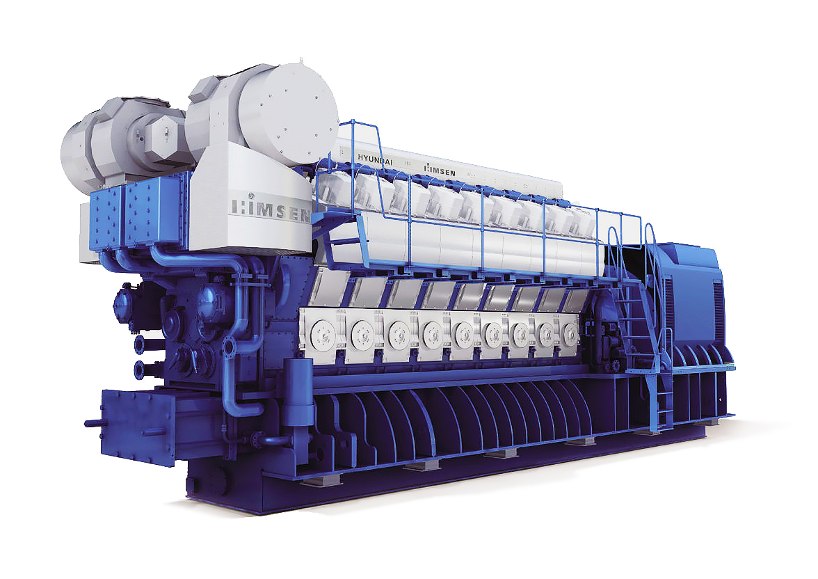Газопоршневая электростанция (ГПУ) Hyundai HiMSEN 14H35/40GV