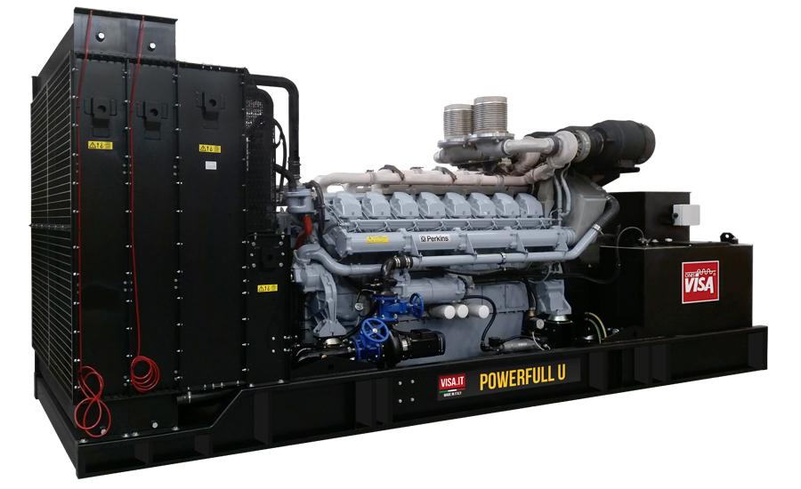 Дизельный генератор (электростанция) Onis Visa P2000