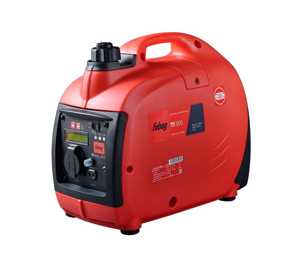 Бензиновый генератор (Бензогенератор) FUBAG TI 800