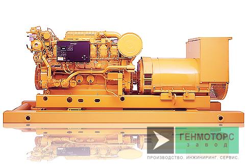 Дизельный генератор (электростанция) Caterpillar 3512B 1360 кВт