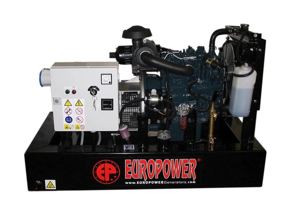 Дизельный генератор (электростанция) Europower EP 103 DE