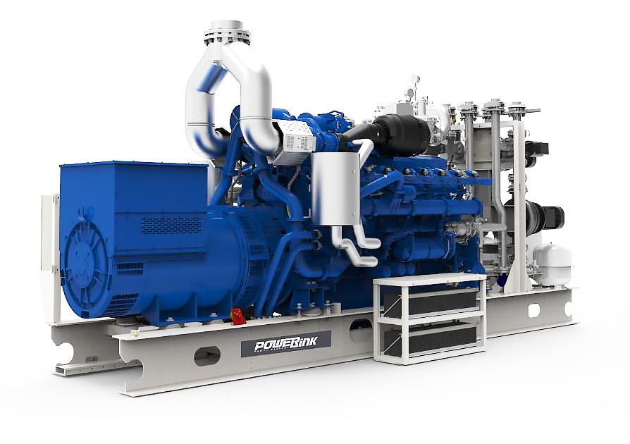 Газопоршневая электростанция (ГПУ) PowerLink GE250NG