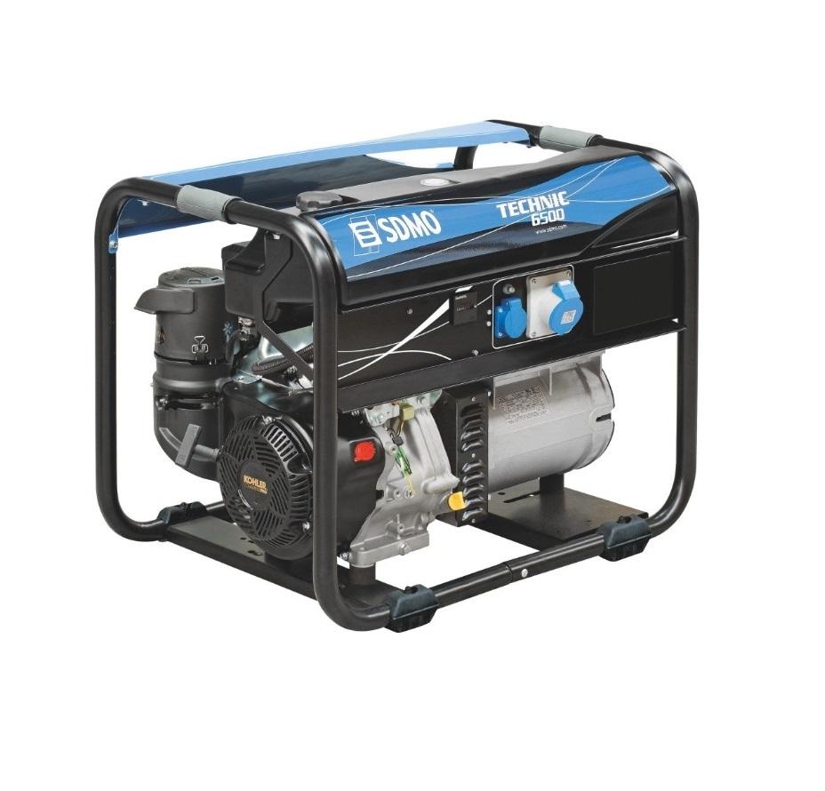 Бензиновый генератор (Бензогенератор) SDMO PERFORM 6500