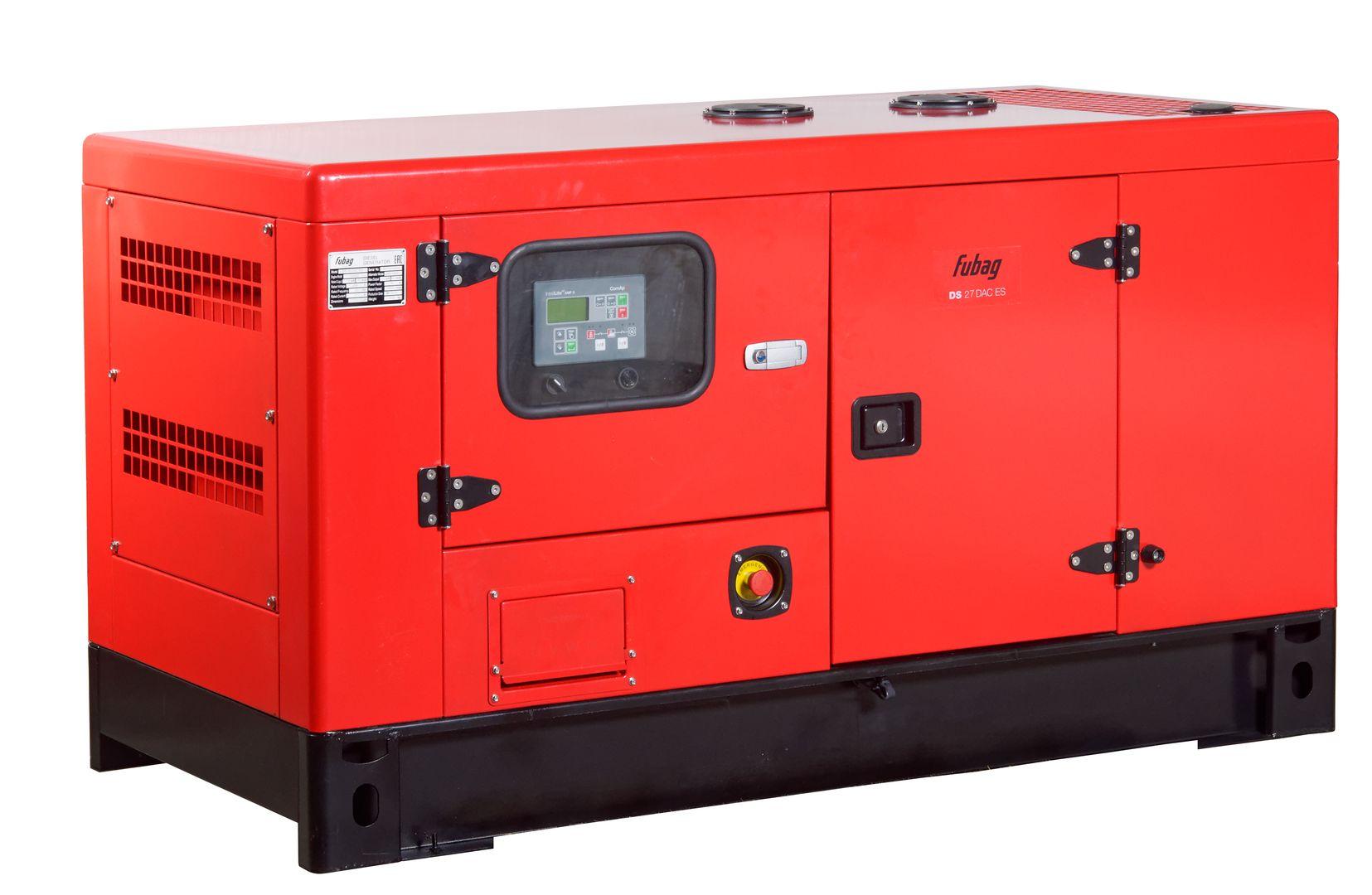 Дизельный генератор (электростанция) FUBAG DS 27 DAC ES