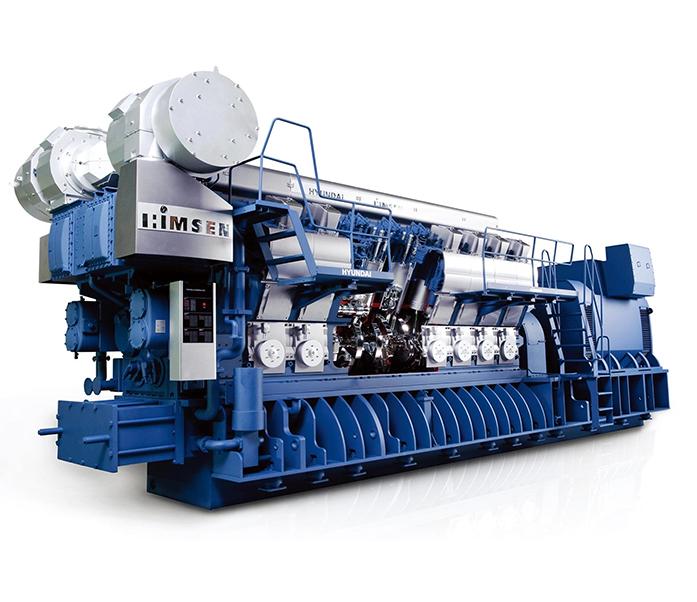 Дизельный генератор (электростанция) Hyundai HiMSEN 16H46/60V