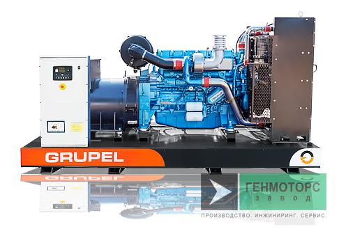 Дизельный генератор (электростанция) G165BDGR Grupel