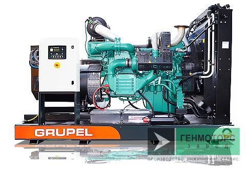 Дизельный генератор (электростанция) G165VVGR Grupel