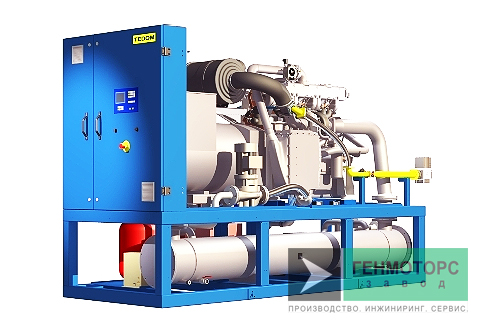 Газопоршневая электростанция (ГПУ) Tedom Cento T100
