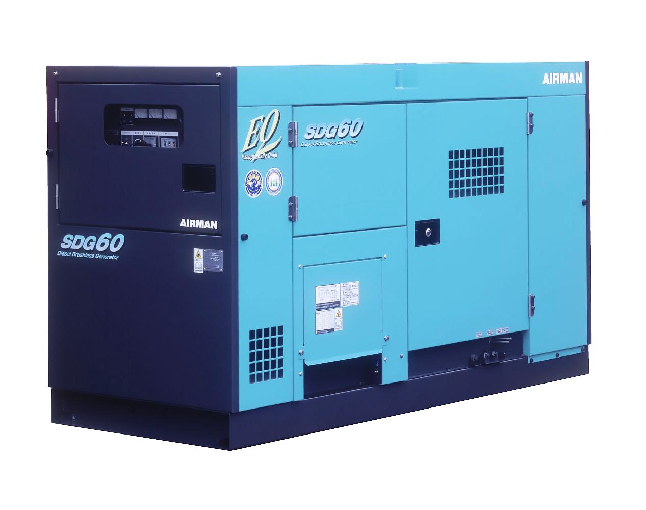 Дизельный генератор (электростанция) AIRMAN SDG60S