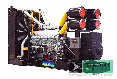 Дизельный генератор (электростанция) AKSA APD2250M